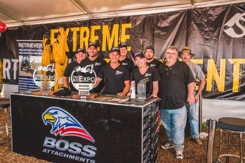 Boss Wins Top Awards at 2018 Diesel Dirt and Turf Expo
